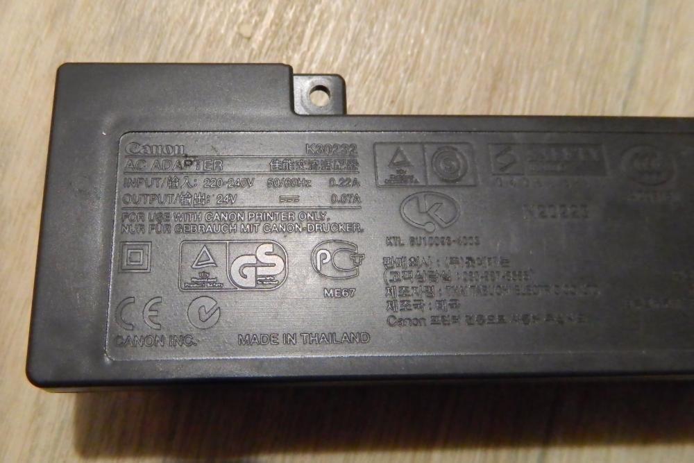 Блок питания для принтера Canon P/N K30232