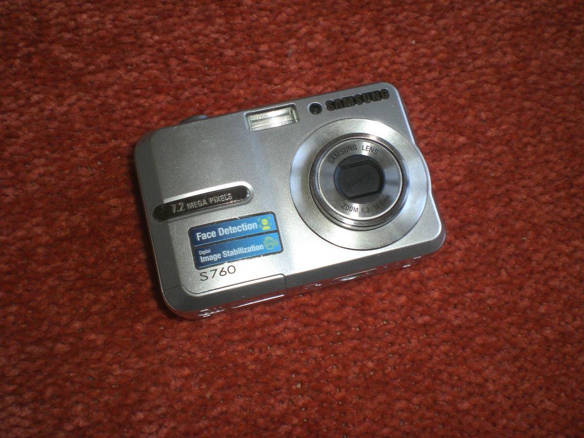 Фотоаппарат цифровой Samsung S760