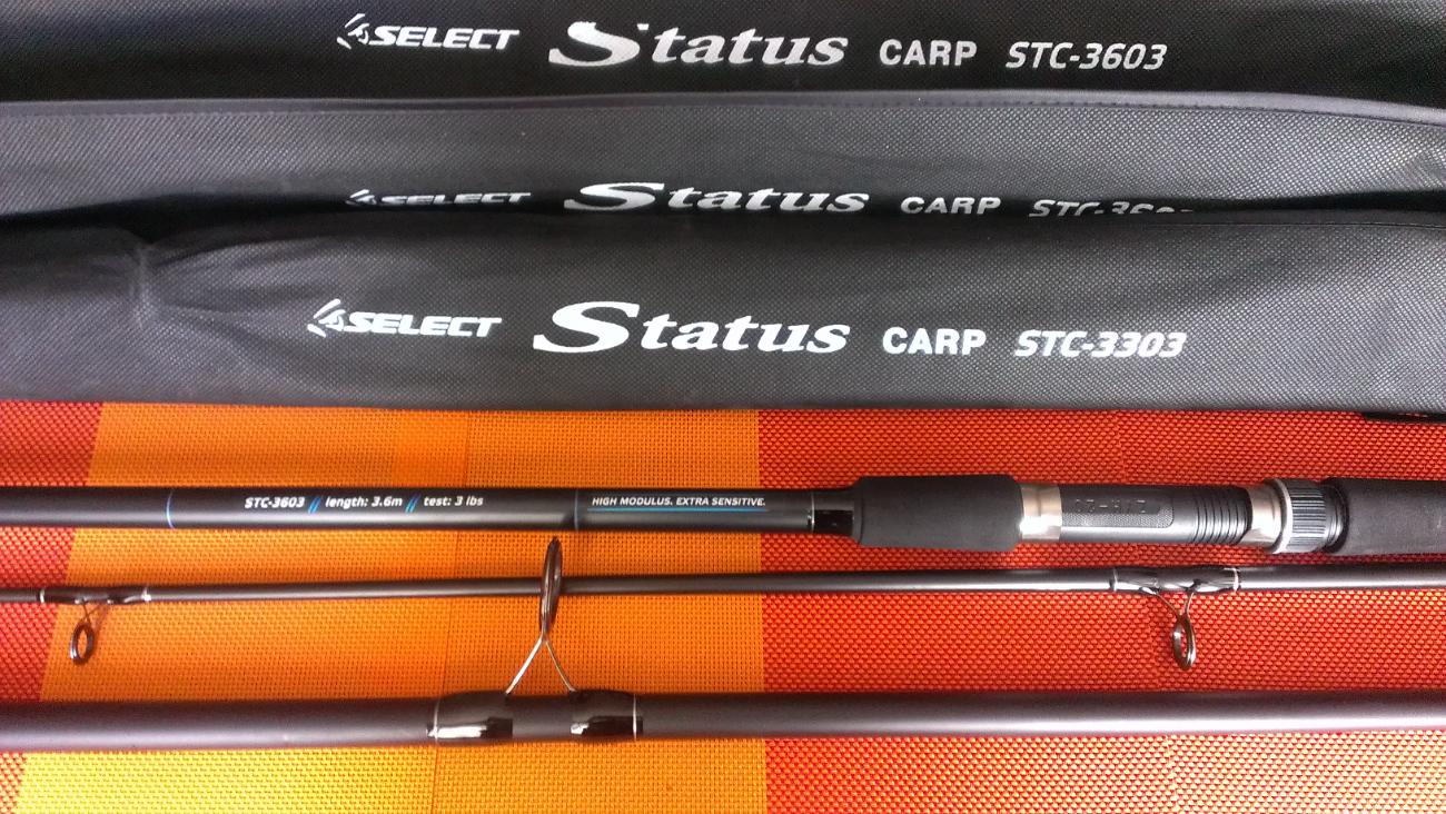 Карповое удилище Select Status Carp 3.60м и 3.30м