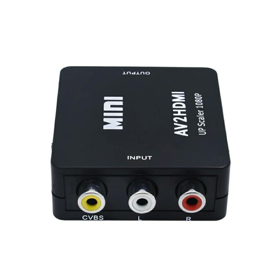 Переходник с AV, RCA на HDMI