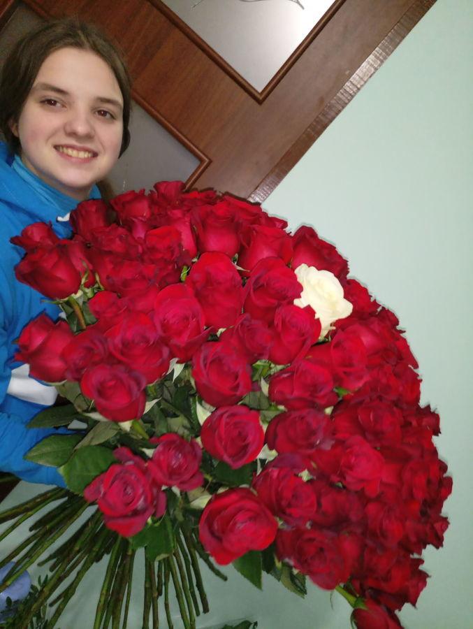 Купить розы Днепр - Доставка цветов Днепр