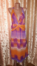 Красивое легкое женское платье, сарафан батального размера marks & spe