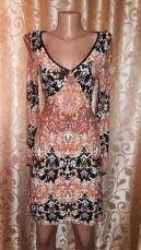 Красивое трикотажное легкое женское платье dorothy perkins
