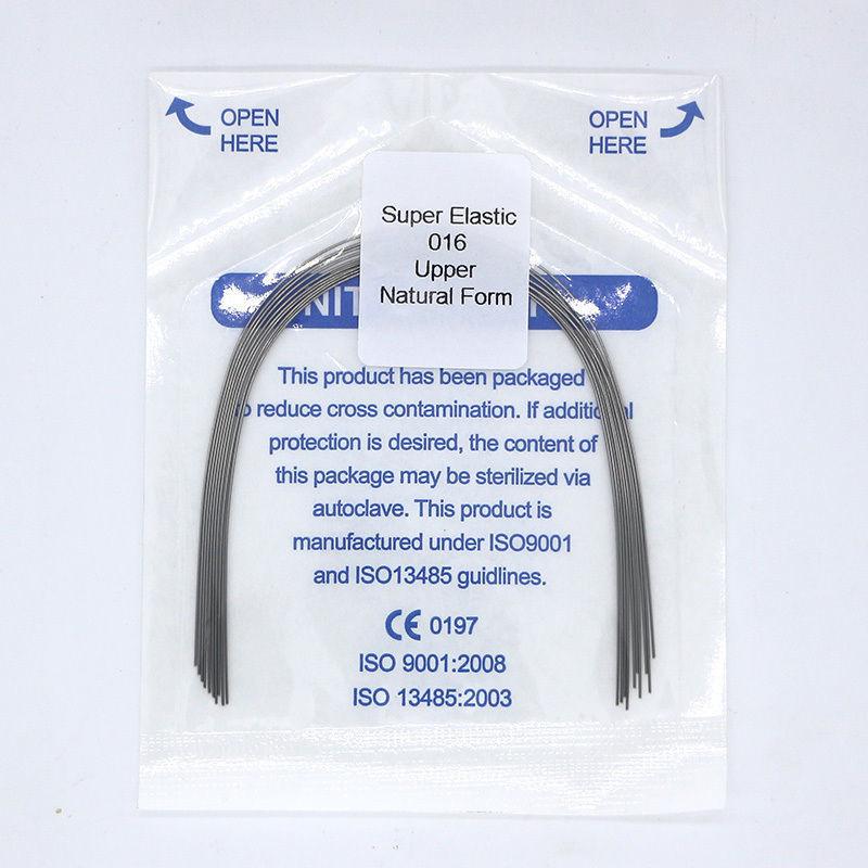 NiTi, никель-титановая ортодонтическая дуга