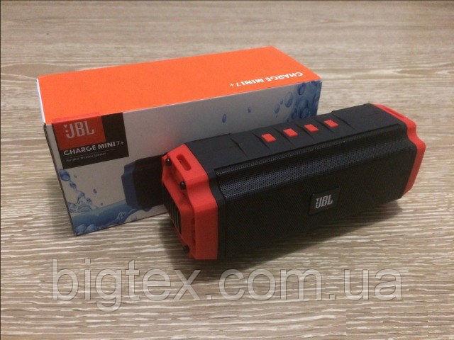 Портативная колонка JBL Charge 7+ mini. Bluetooth