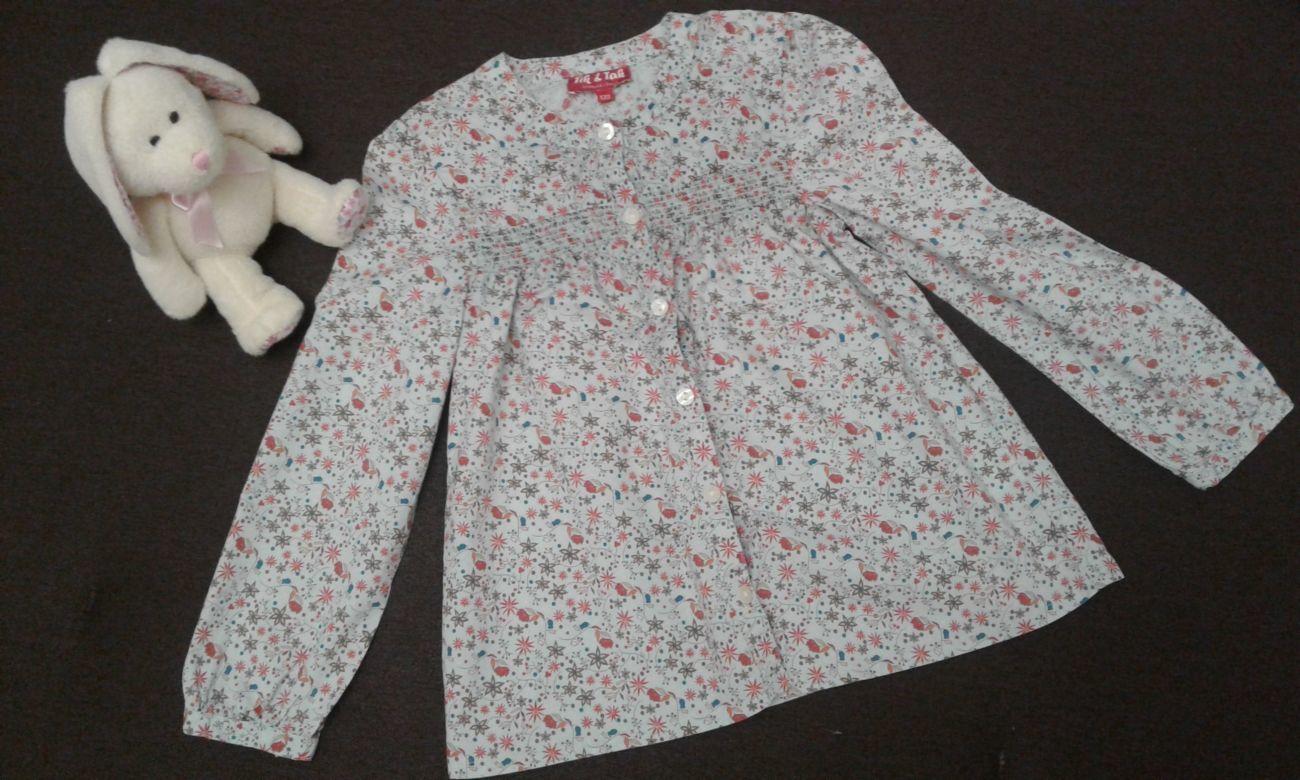 Блузка, рубашка на девочку 7 лет - 122р