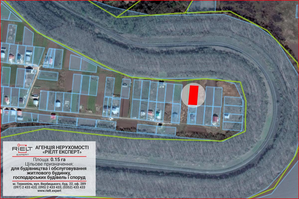 Земельна ділянка в селі Великі Бірки, для будівництва