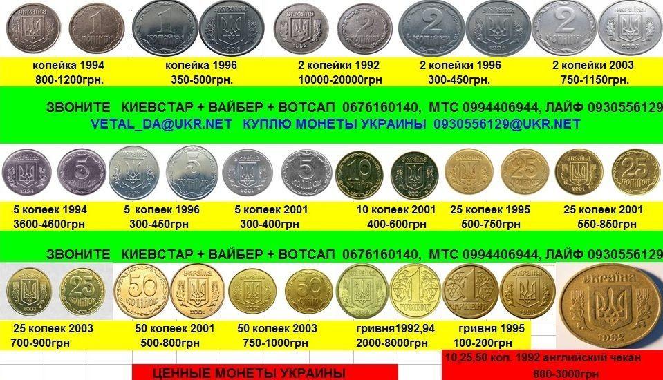 куплю монеты Украины , монеты СССР, куплю медали, ордена.