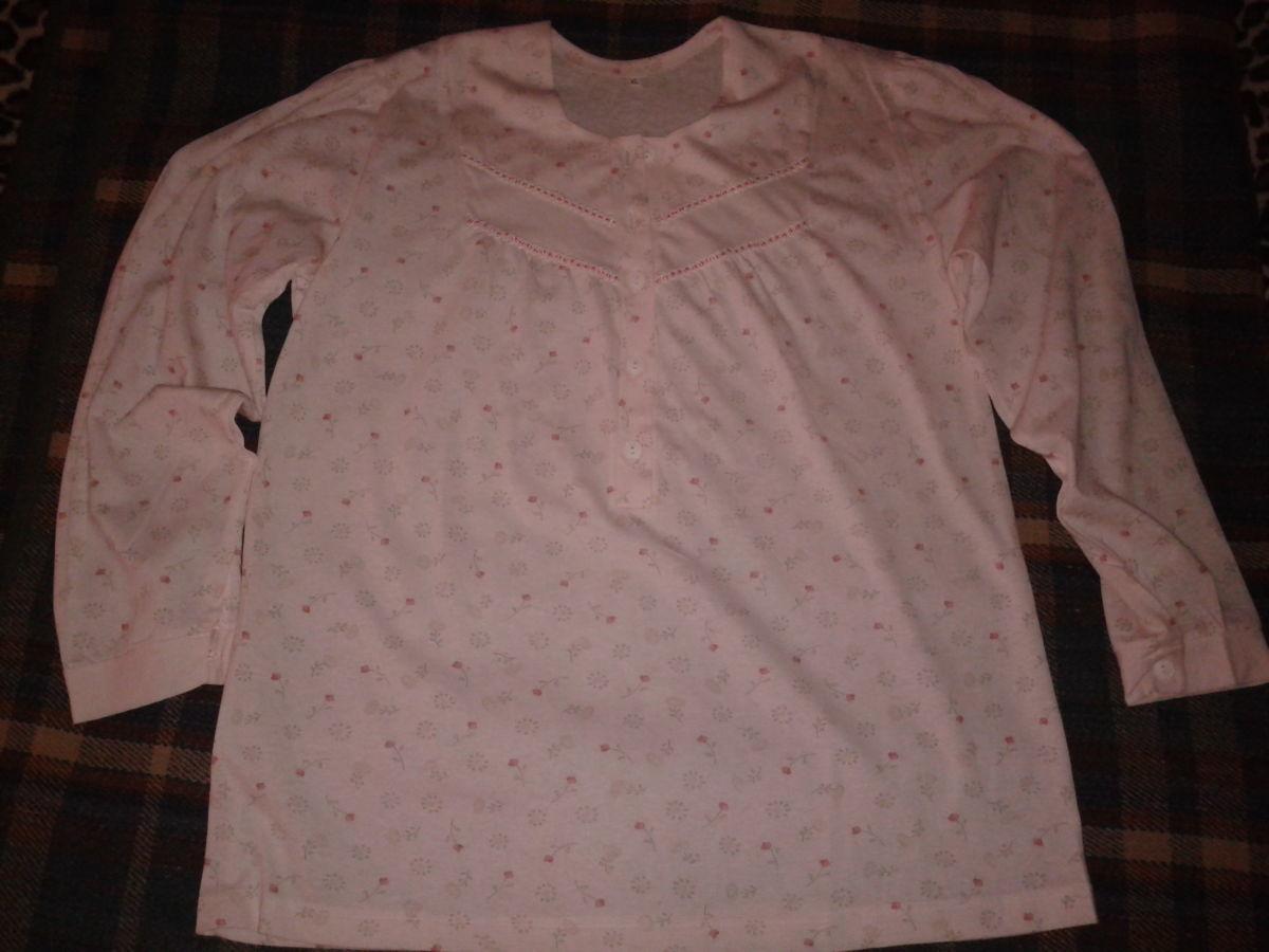 Пижамная блуза, новая, 100 % хлопок, размер Хл, наш 50-52