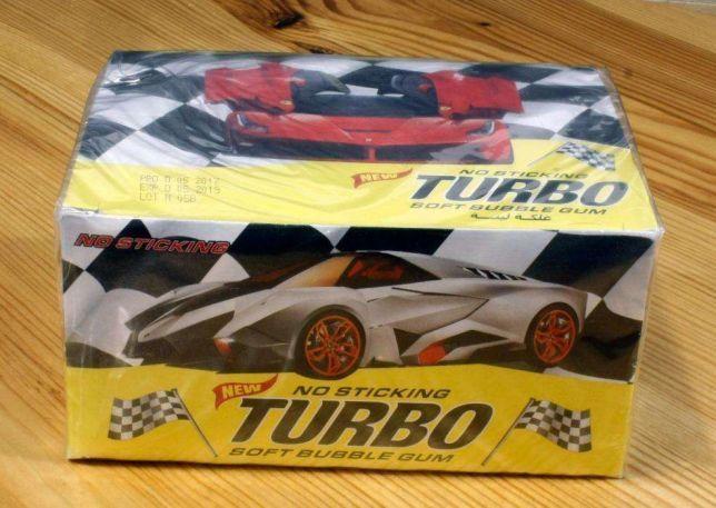 Легендарная жвачка Турбо Turbo