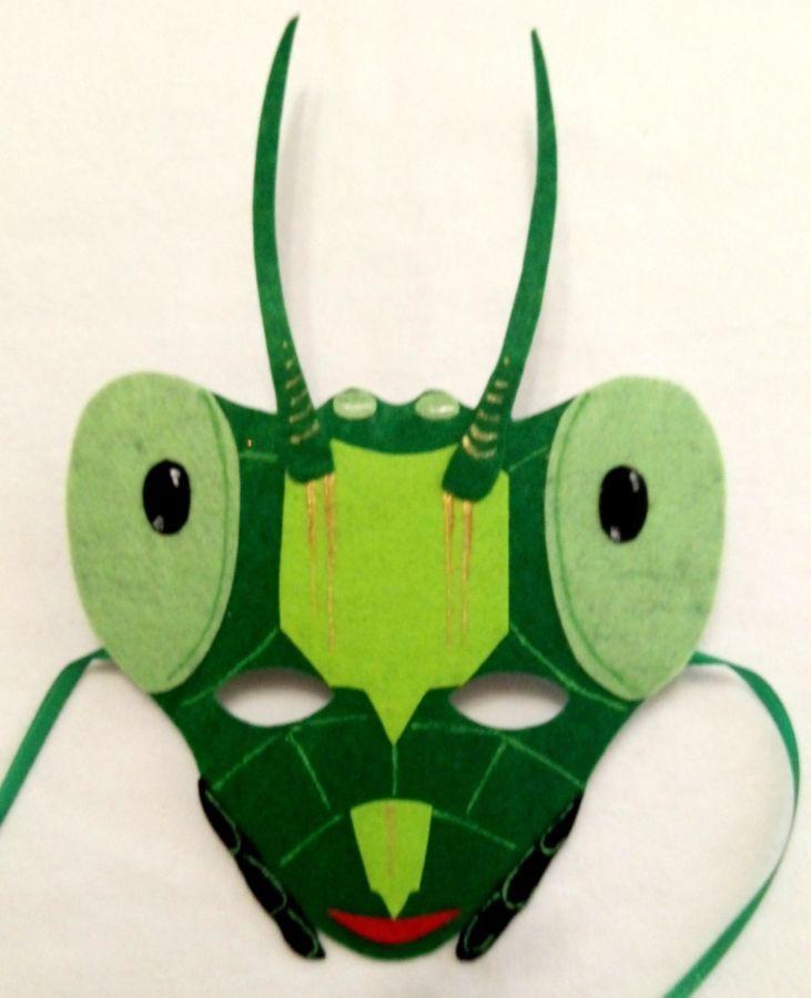 картинка маски кузнечика в хорошем качестве внутренняя
