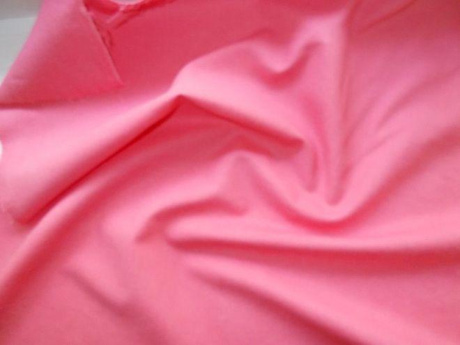 Ткань хлопок со льном кораллового цвета. For Hand Made, рукоделия