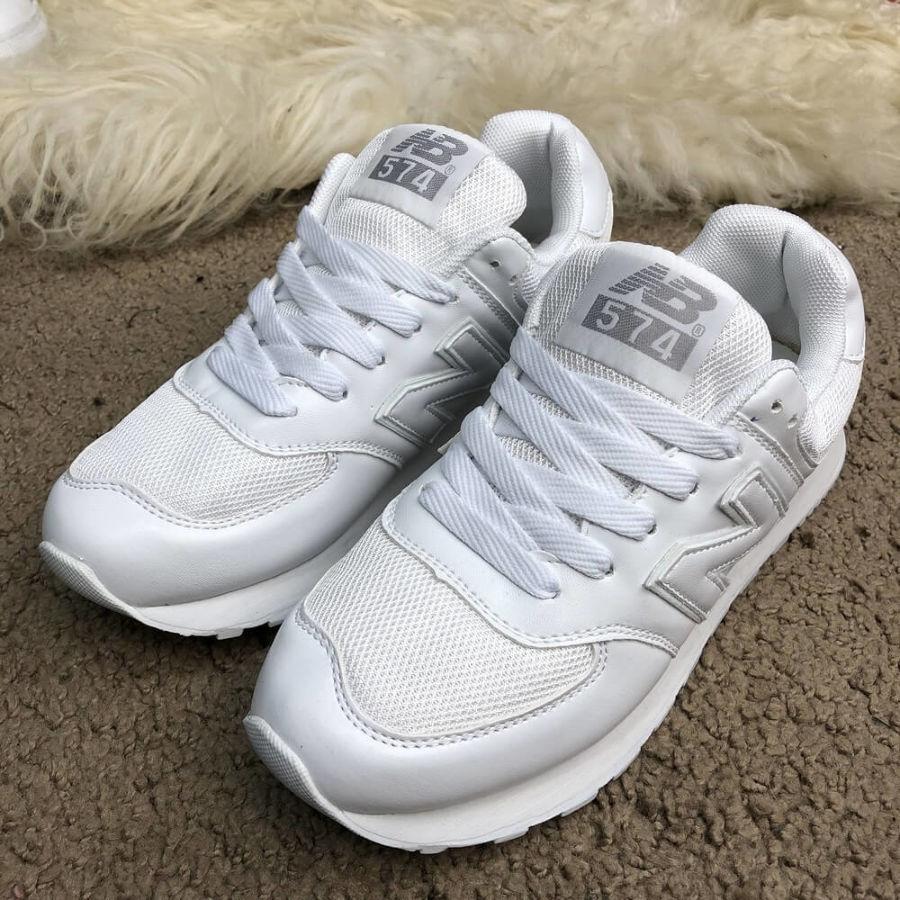 Кроссовки New Balance 574 White  650 грн. - Спортивная обувь Полтава ... dd7b2bc4ad300