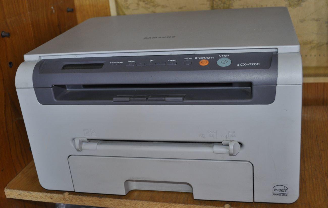 лазерний БФП samsung scx 4200- б.в.