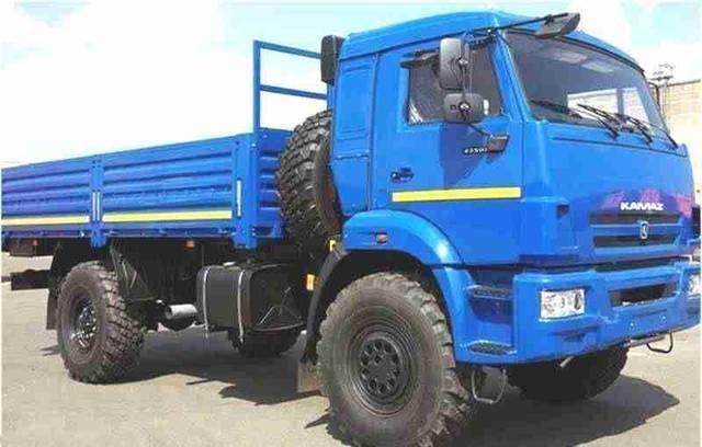 Новый полноприводный грузовой автомобиль КАМАЗ- 43502-6024-66 (4х4)