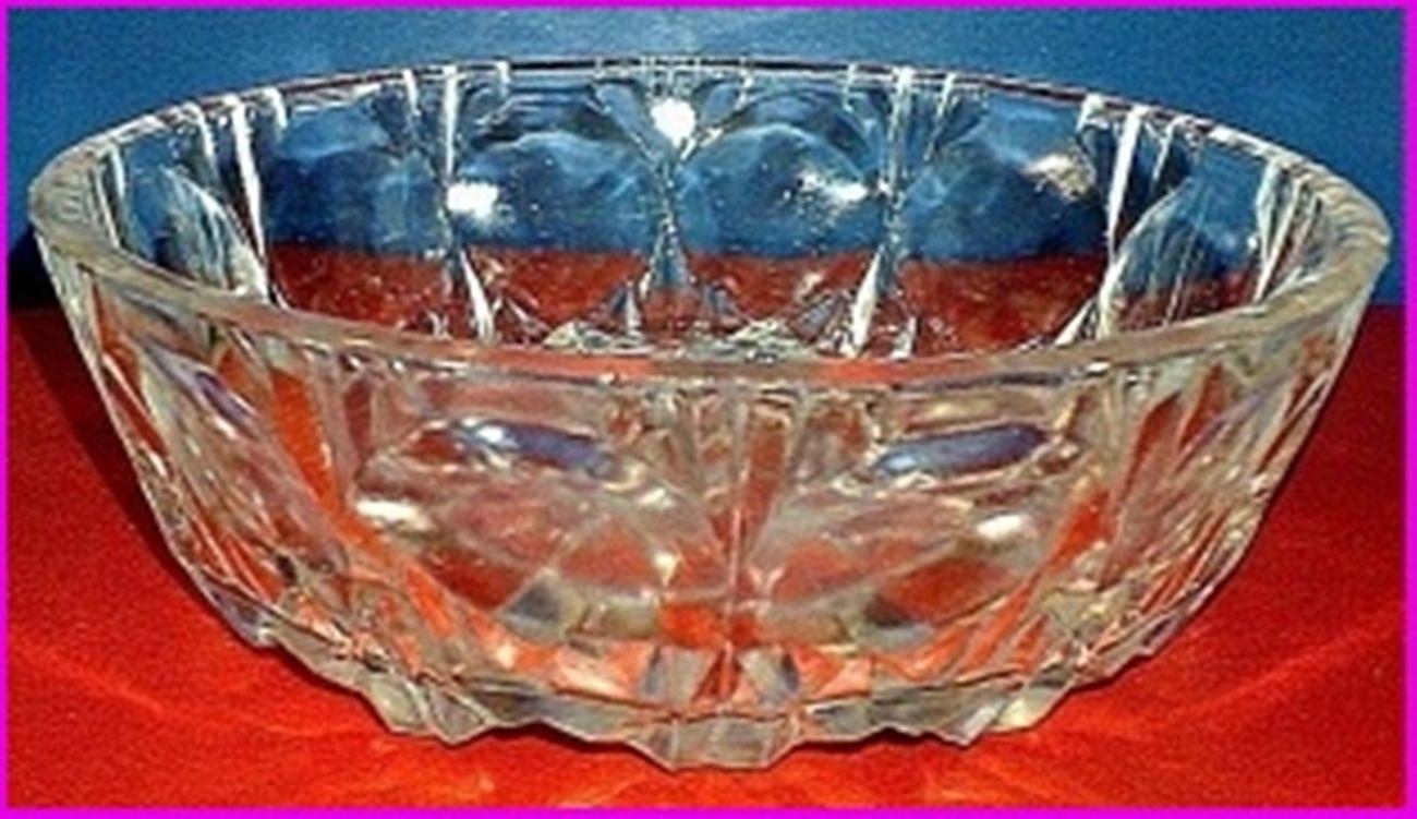 Икорница Богемия салатница хрусталь ваза
