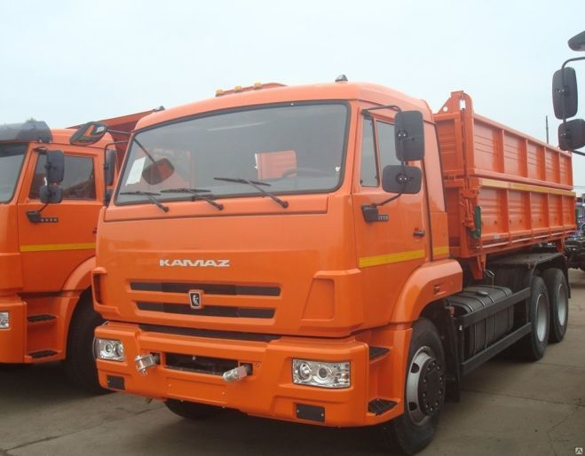 Новый самосвал зерновоз КАМАЗ-45143-6012-48 колхозник