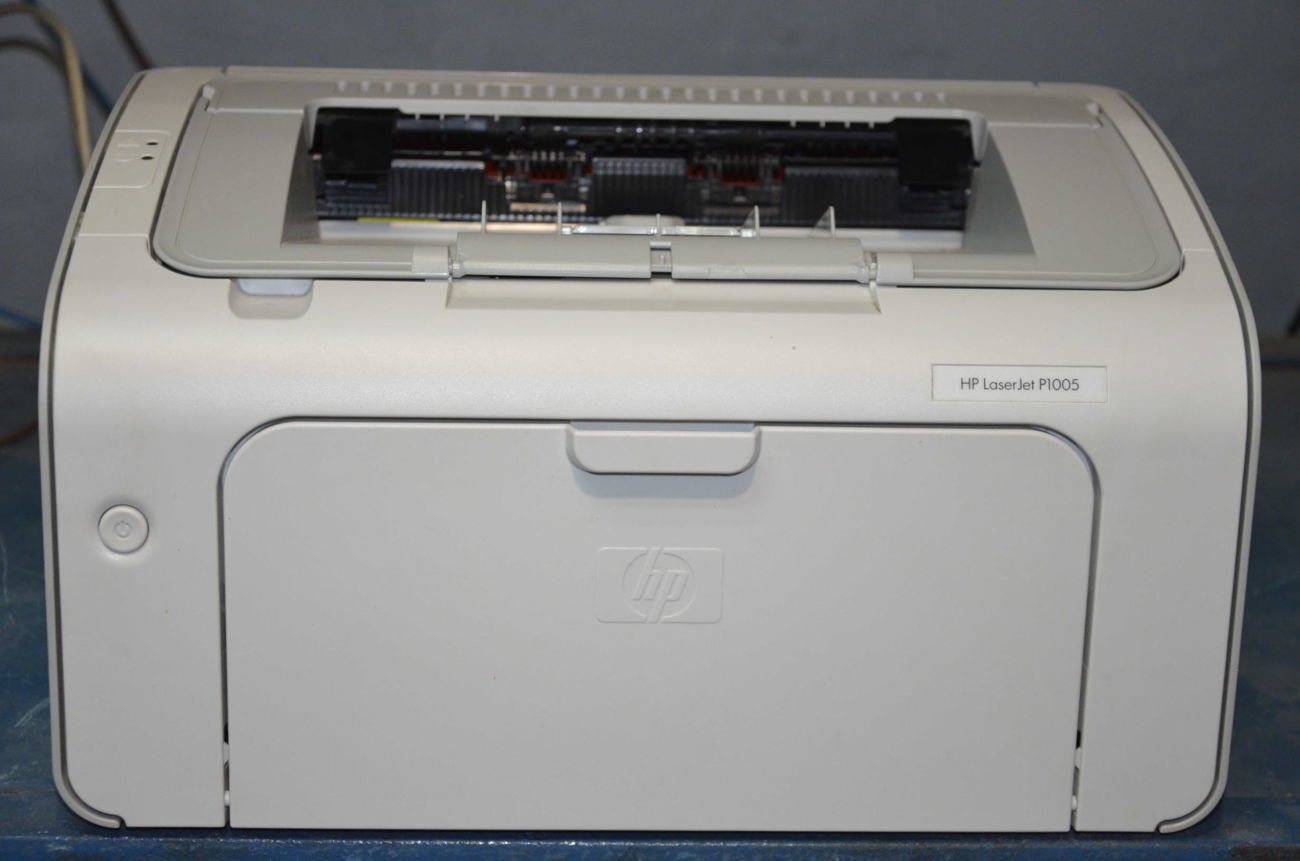 PRINTER HP LASERJET P1005 DRIVER UPDATE