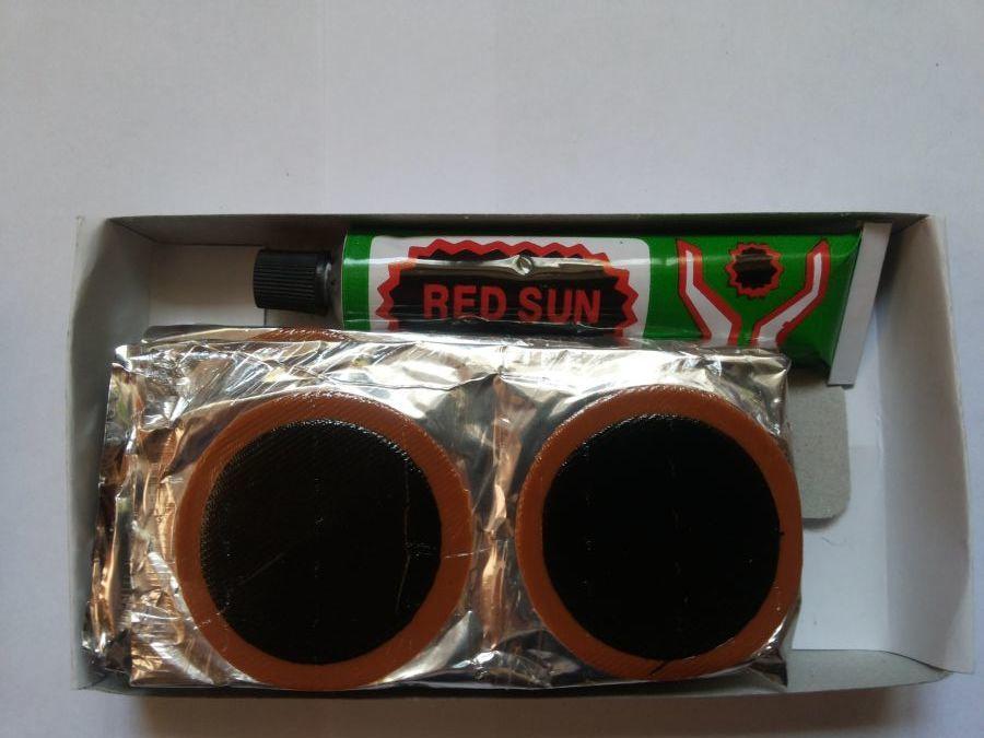 Латки круглые RS-2402 +клей для латок