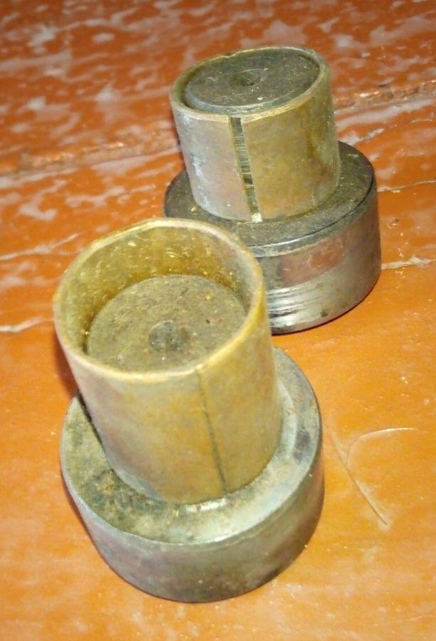 Шкворень УАЗ 452, 469 старого образца (2шкворня+2втулки)
