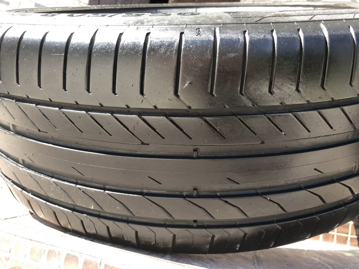 Шины Continental ContiSportContacts 5 2шт 255/50 R20