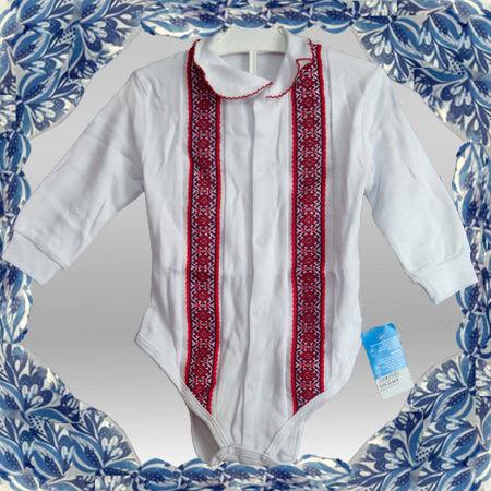 """Бодік-вишиванка для дівчинки 1336.32 від ТМ """"БОМА"""""""