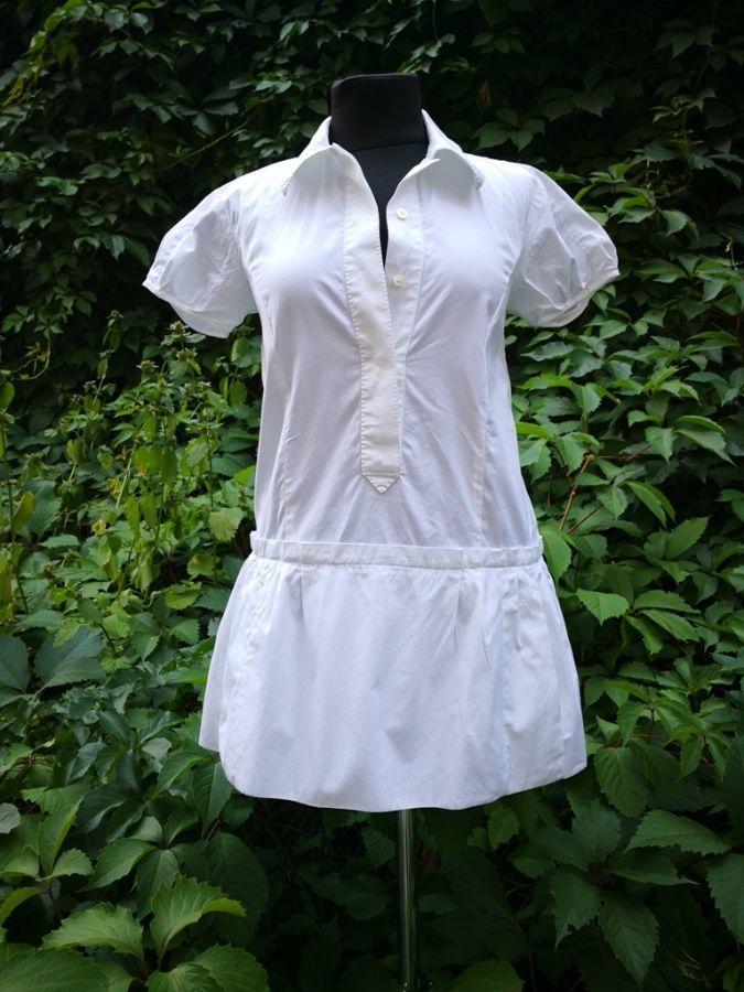 Рубашка / блуза / туника Louis Vuitton, оригинал, хлопок, цвет - белый