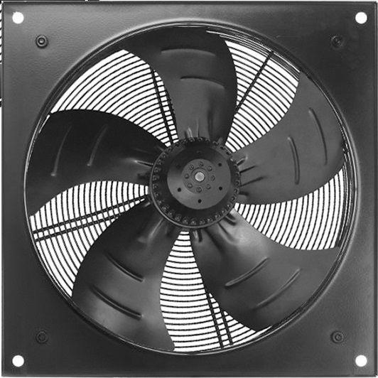 Осевой вентилятор Sigma 600 с флянцем