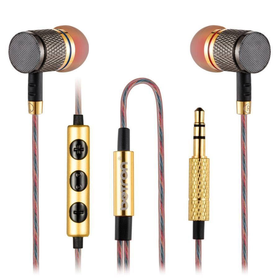 Навушники Betron Ysm1000, висока роздільна здатність звуку.