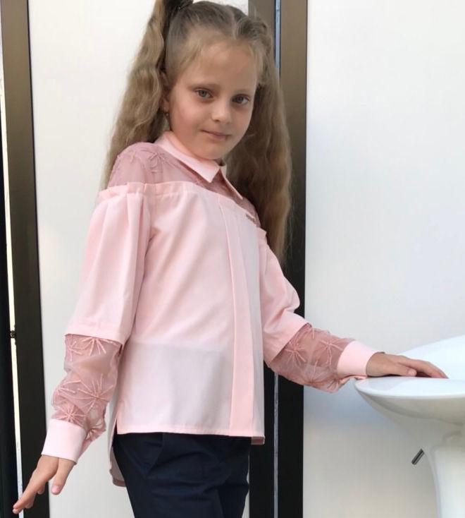 5b5fc62d4b3 Купить сейчас - Нарядные блузки для девочек  330 грн. - Другое Киев ...