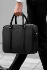 Мужской кожаный портфель, мужская сумка кожа, брифкейс, деловая