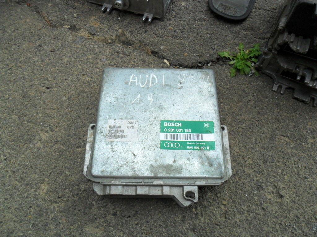 Блок управления Audi 80 B4 1.9TDI, BOSCH 028 001185, Audi 8A0907401B