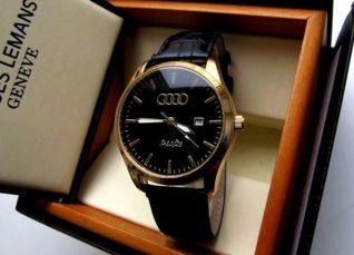 2 ЦВЕТА ЖИВЫЕ ФОТО Супермодные кварцевые мужские часы Audi
