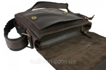 f4f4ece78bbe Мужская кожаная сумка ручной работы фирмы Sullivan: 1 350 грн ...