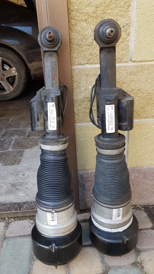 Амортизатор пневмостойка W221 Mercedes Foomatic