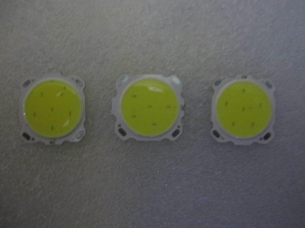 светодиод COB 3 Вт (3 шт в лоте)