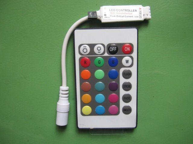 Контроллер светодиодной ленты 24 кнопки
