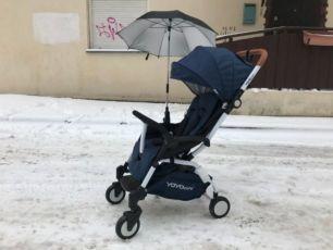 коляска YOYA care 2018,2 бампера,йойа,утепление в подарок,синяя,достав