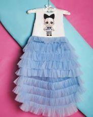 Платье с девочкой ЛОЛ платье LOL Surprise одежда с L.O.L в Украине