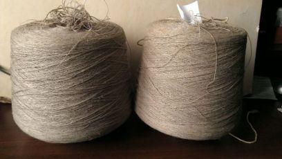 Пряжа Нитки Нить для вязания плетения макраме Лен