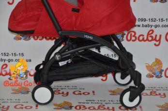 коляска YOYA 175+блок для новорожденного(люлька),красн,йойа,бесплатна