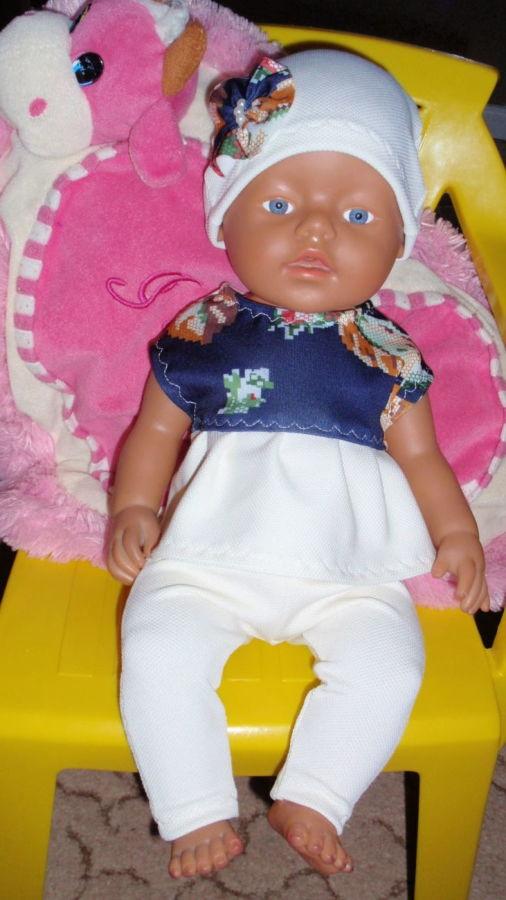 Одежда Костюм на BABY BORN