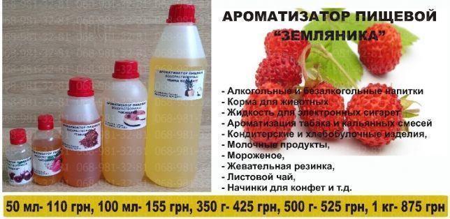 Ароматизатор пищевой