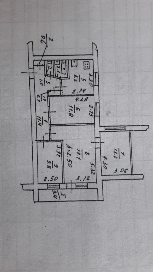 Продам 4-х комнатную квартиру р-н ул. Титова