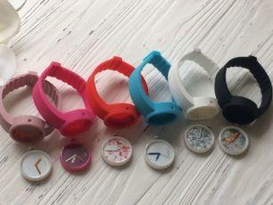 Часы женские силиконовые аналог O clock