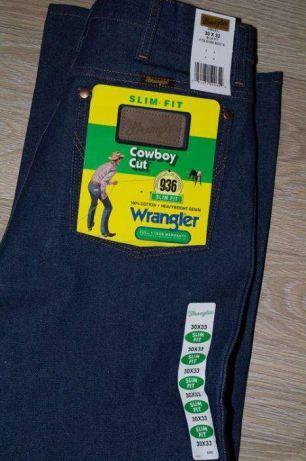 632ba8d64a8 Джинсы Wrangler 936DEN Cowboy Cut Slim Fit Rigid Indigo Есть размеры ...