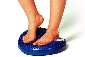 Подушка балансировочная/Массажная. Массажер для ног/стоп/фитнеса