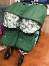 Bumbleride indie twin коляска для двойни погодок