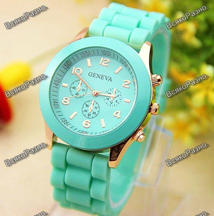 Часы наручные мятные ханова часы где купить