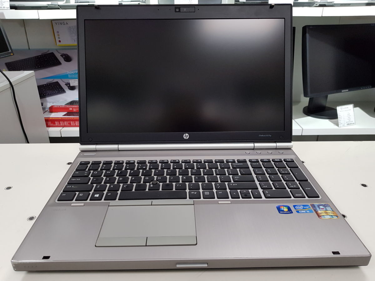 Бизнес ноутбук HP EliteBook 8570р, i5-3320м, 4ГБ-DDR3, 320ГБ,Windows 7